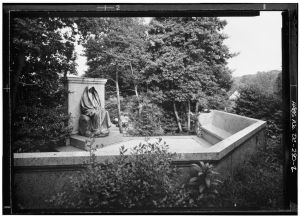 Adams Memorial, Rock Creek Cemetery (American Historical Building Survey, Prints and Photographs Division, Library of Congress)
