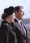 Arrival ceremony at the White House for Prime Minister Margaret Thatcher (26 February 1981; Reagan Presidential Library)